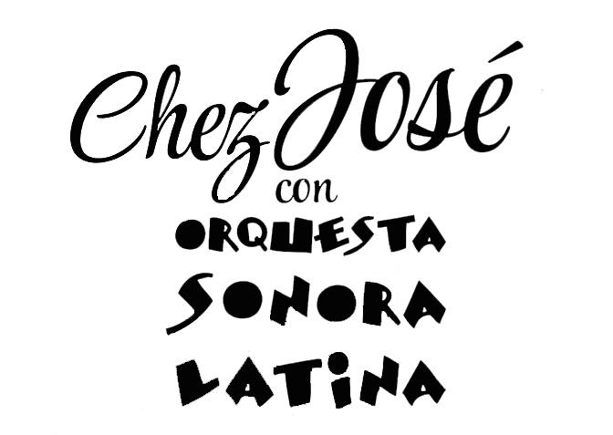 CHEZ JOSE logo negro