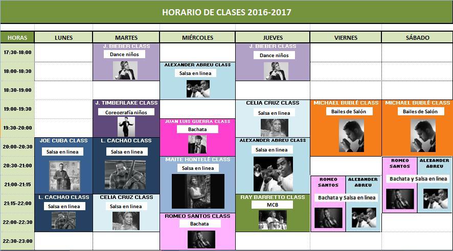 Horario 2016-2017 v3