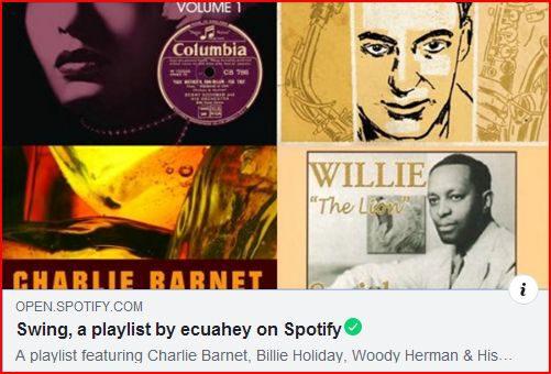 Ecuahey! con Swing en Spotify